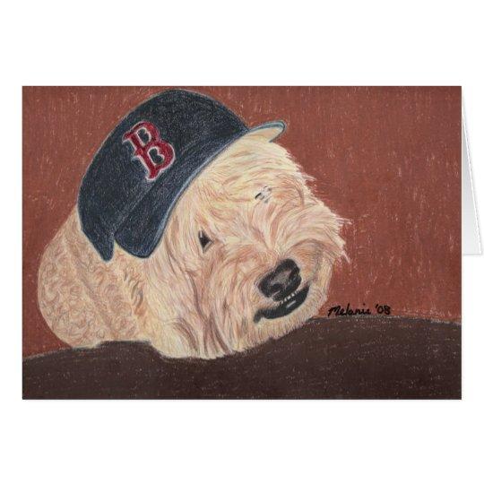 Wheaten Terrier - Wheatie Card