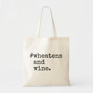 Wheatens and Wine Tote Bag