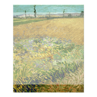 Wheatfield by Vincent Van Gogh 11.5 Cm X 14 Cm Flyer