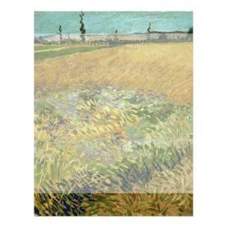 Wheatfield by Vincent Van Gogh 21.5 Cm X 28 Cm Flyer