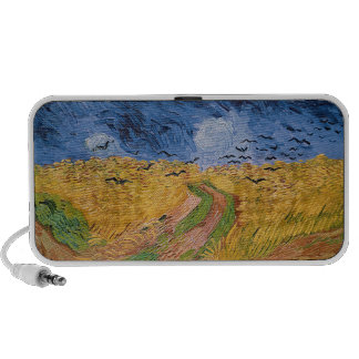 Wheatfield with Crows, 1890 (oil on canvas) Notebook Speaker