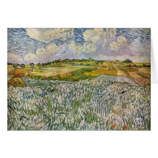 Wheatfields by Van Gogh Card