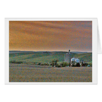 Wheatfields Card