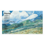 Wheatfields with Mountain in the Background Pack Of Standard Business Cards