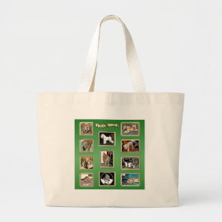 Wheatie Moments Large Tote Bag