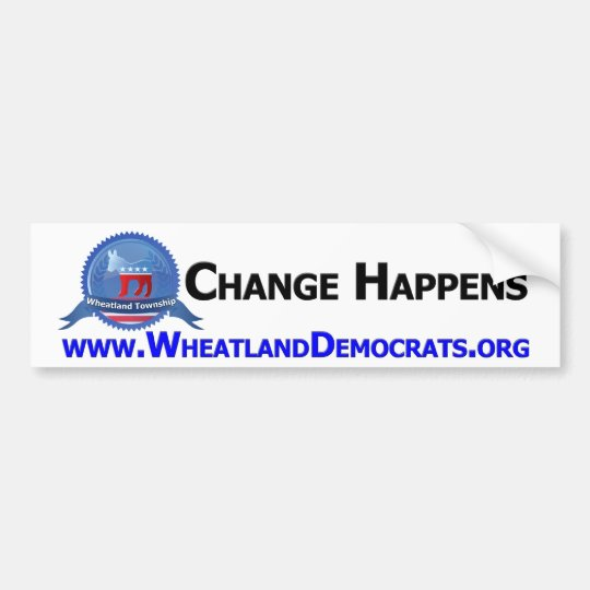 Wheatland Democrats Bumper Sticker