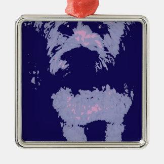 Wheaton Terrier Christmas Ornament
