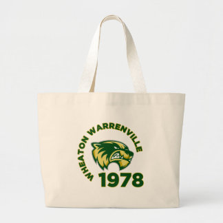Wheaton Warrenville High School Jumbo Tote Bag