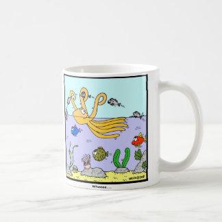 Wheeee: Octopus cartoon Coffee Mug