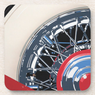 Wheel Beverage Coaster