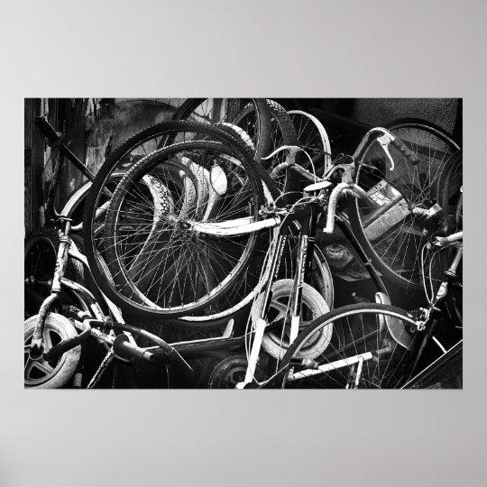 Wheel Carnage Poster