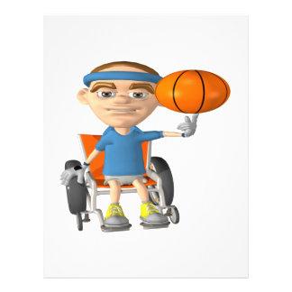 Wheel Chair Basketball Flyers