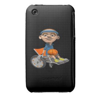 Wheel Chair Basketball iPhone 3 Covers