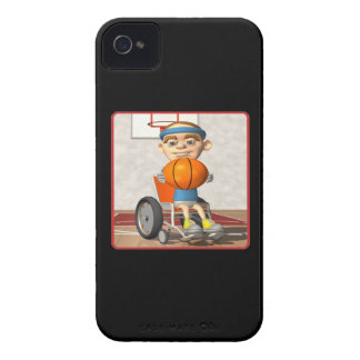 Wheel Chair Basketball iPhone 4 Cover