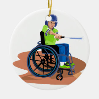 Wheel Chair Lefty png Christmas Ornaments