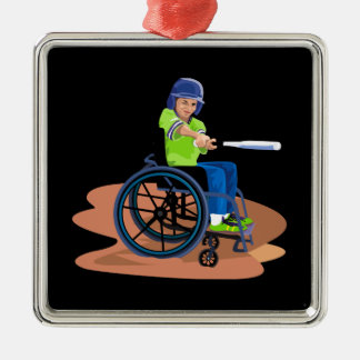 Wheel Chair Lefty png Ornament