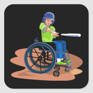 Wheel Chair Lefty.png Stickers