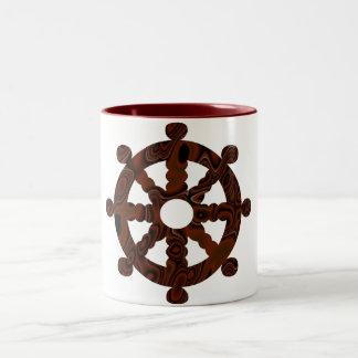Wheel cup coffee mug