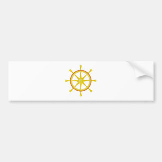 Wheel Dharma wheel Bumper Stickers