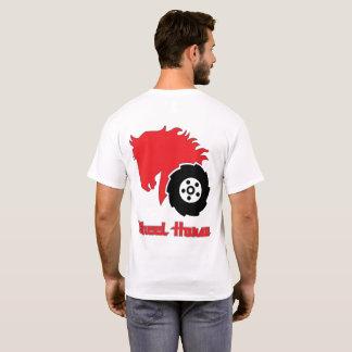 Wheel Horse Garden Tractor Mens Basic art T Shirt
