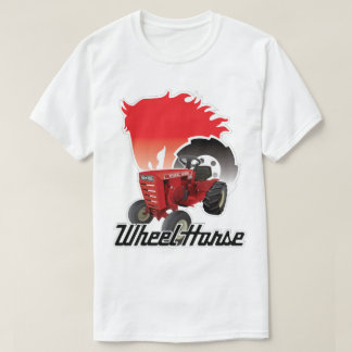 Wheel Horse Garden Tractor Tee Shirt Gift Graphic