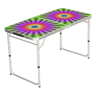 Wheel of Colour Beer Pong Table