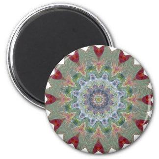 Wheel of fortune 6 cm round magnet