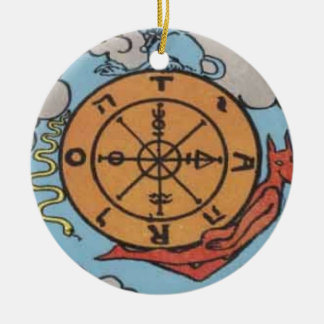 Wheel of Fortune Christmas Tree Ornaments