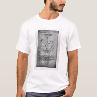 Wheel of Fortune. Formula for a ceramic T-Shirt