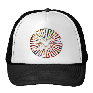 Wheel of Fortune - Sparkle Red Designs Cap