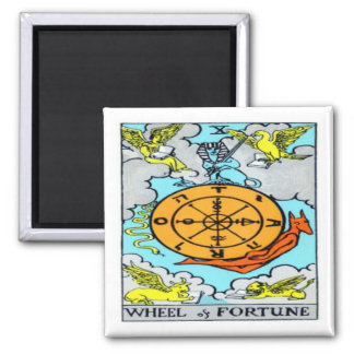 Wheel of Fortune Square Magnet