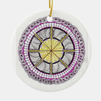 wheel of happiness Ornament