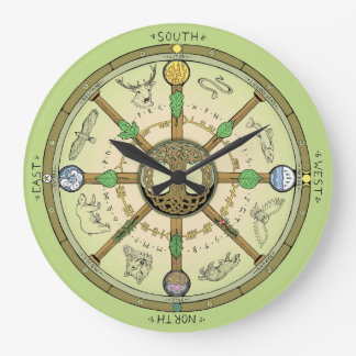 Wheel of the Year Clock