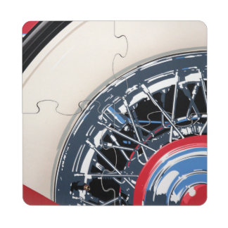 Wheel Puzzle Coaster