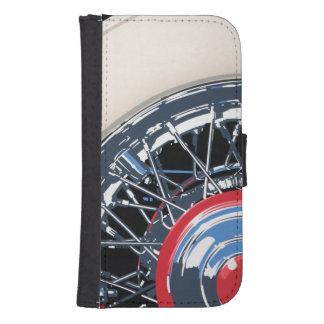 Wheel Samsung S4 Wallet Case