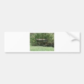 Wheelbarrow Bumper Sticker