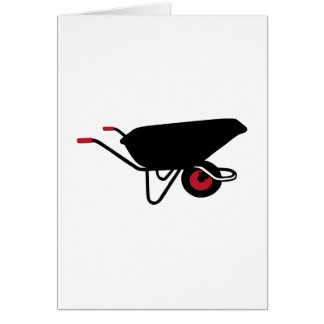 Wheelbarrow Greeting Card