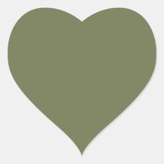 Wheelbarrow Grey in an English Country Garden Heart Sticker
