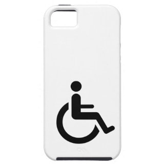 Wheelchair Access - Handicap Chair Symbol Case For The iPhone 5