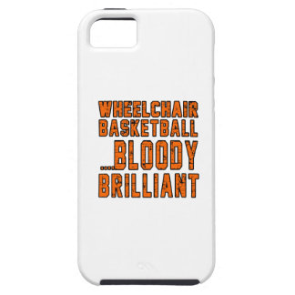Wheelchair Basketball Bloody Brilliant iPhone 5/5S Cover