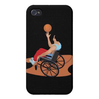 wheelchair basketball iPhone 4 case