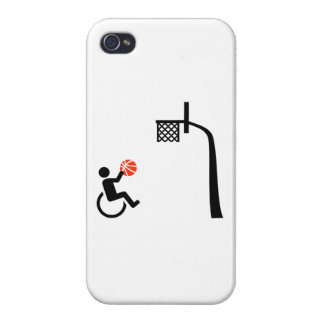 Wheelchair basketball iPhone 4 cases