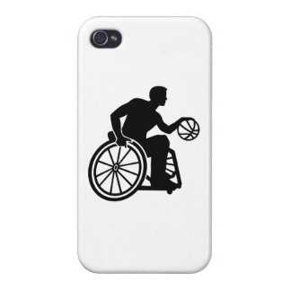 Wheelchair basketball iPhone 4 covers