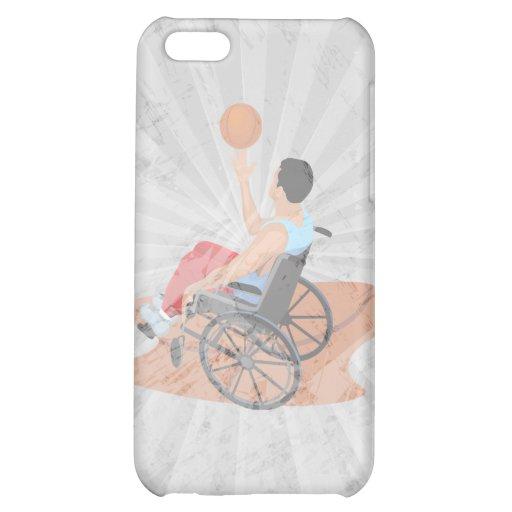 wheelchair basketball iPhone 5C cases