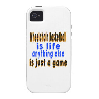 Wheelchair Basketball is life anything else is jus iPhone 4/4S Cover