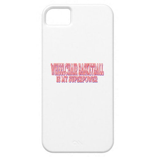 Wheelchair Basketball is my superpower iPhone 5/5S Case