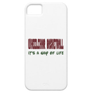 Wheelchair basketball It's a way of life iPhone 5 Cover