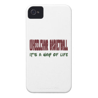 Wheelchair basketball It's a way of life iPhone 4 Cases