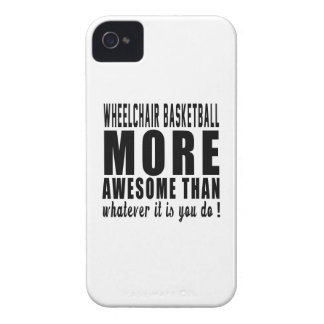 Wheelchair Basketball more awesome than whatever i iPhone 4 Case-Mate Cases