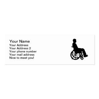 Wheelchair Business Card Template